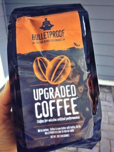 "low-toxic coffee - ""Bulletproof Coffee"""