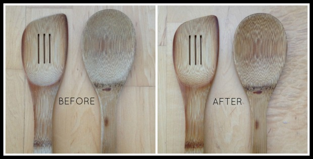 Wooden Spoons Collage