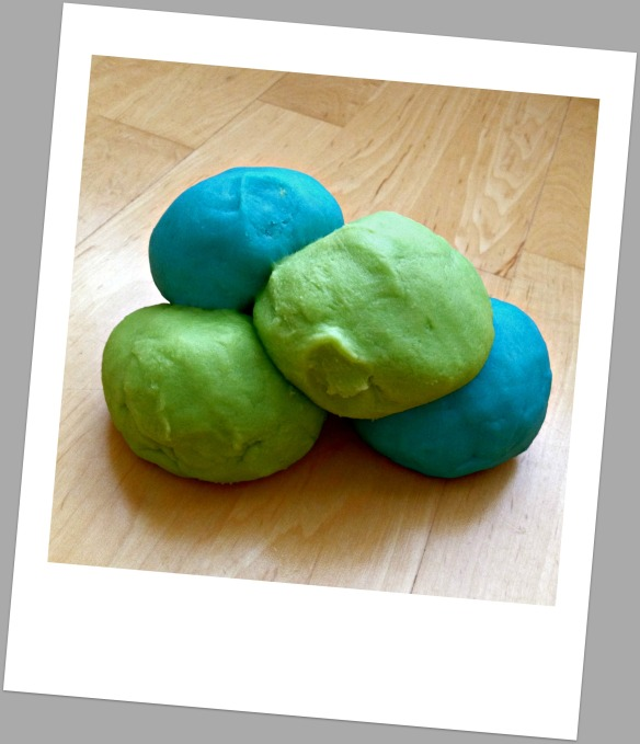 Play Dough clump